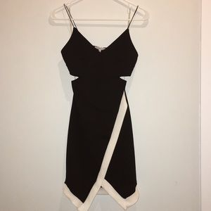 Charlotte Russe Cut Out Bodycon Dress